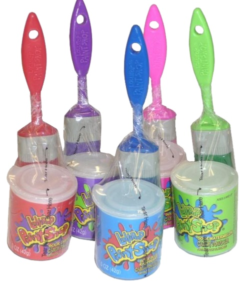 90s candy. Lollipop paint shops. The dust was terrible. But I loved them.