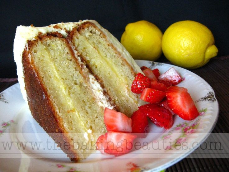 Gluten Free Layered Lemon Cake with Lemon Whipped Cream Frosting | Re ...