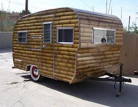 Faux bamboo trailer