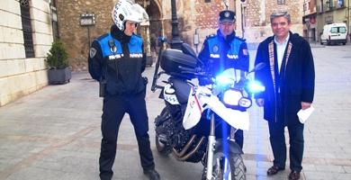 La Policía Local de Teruel estrena nueva moto