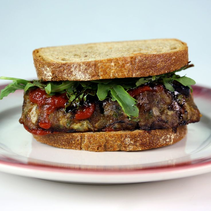 Meatloaf Sandwich with spicy ketchup Recipe by Mario Batali