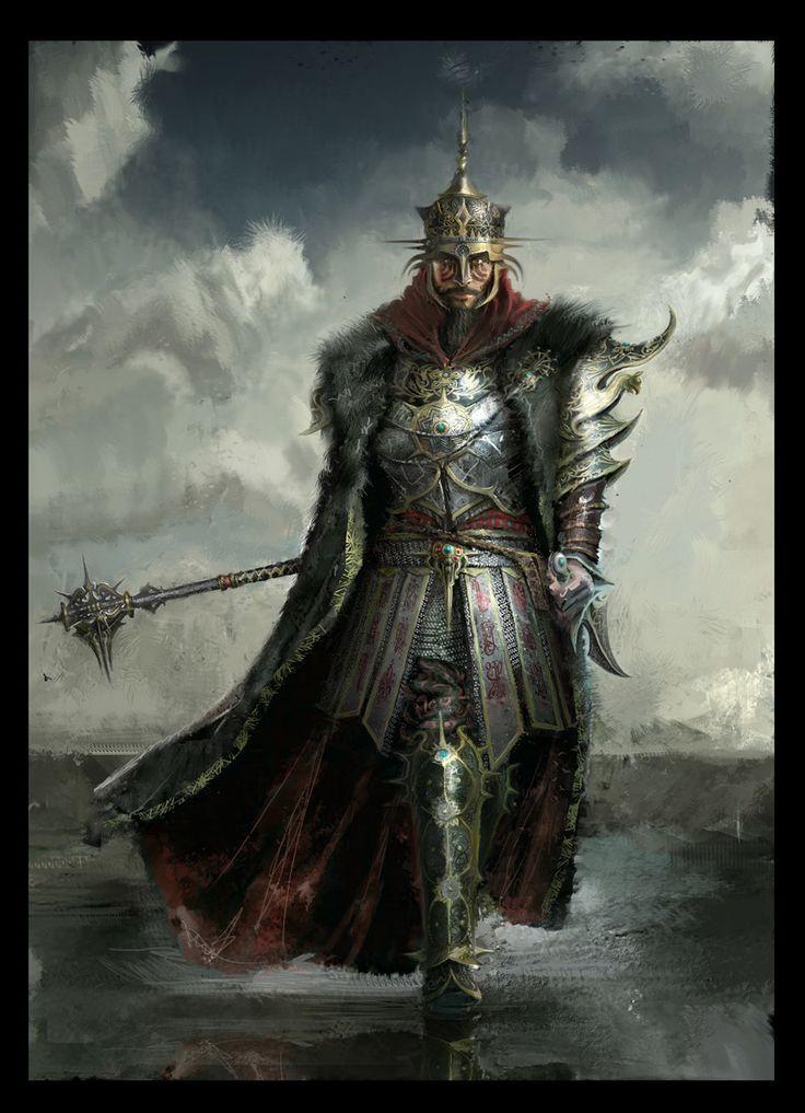 Fantasy Knight Art (2d, fantasy, concept art,