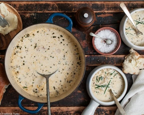 Classic New England Clam Chowder | Cook : Soups,Salad and Breads | Pi ...