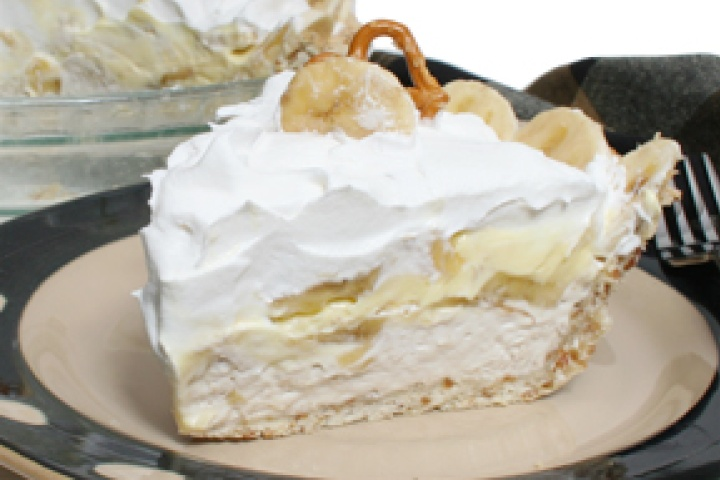 Granny's Banana Cream Pie | Weight Watchers Recipes | Pinterest
