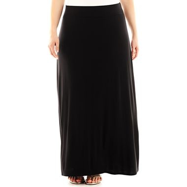 a n a 174 maxi skirt plus jcpenney my style