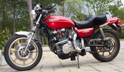 Sweet!! 1977 KAWASAKI LTD. KZ 1000 TURBO