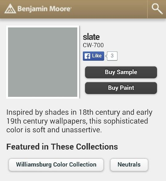 Benjamin moore gray paint colors car interior design for Benjamin moore slate grey