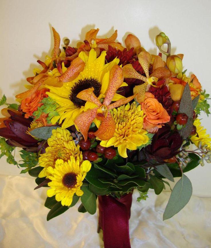 Fall Wedding Bouquets Hawleys Florist Weddings Bouquets Continued