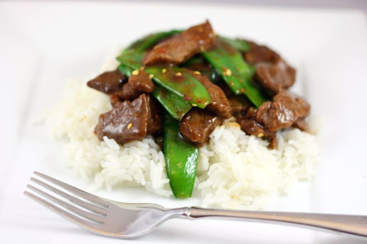 Beef with Snow Peas | Food & Drinks | Pinterest