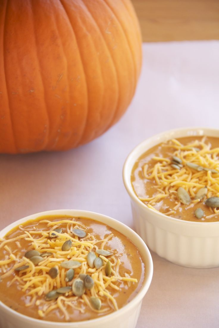 Chipotle pumpkin soup...cannot wait to try this!
