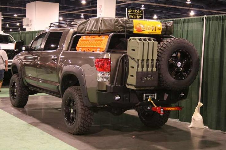 Toyota Tundra Bug Out Vehicle Pinterest