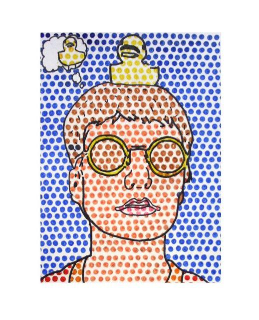 Student Example Pop Art Comic Painting Y10 Pinterest