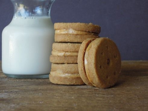 ... Girl Scout cookies begin! Peanut Butter Sandwiches/Do-Si-Dos up first