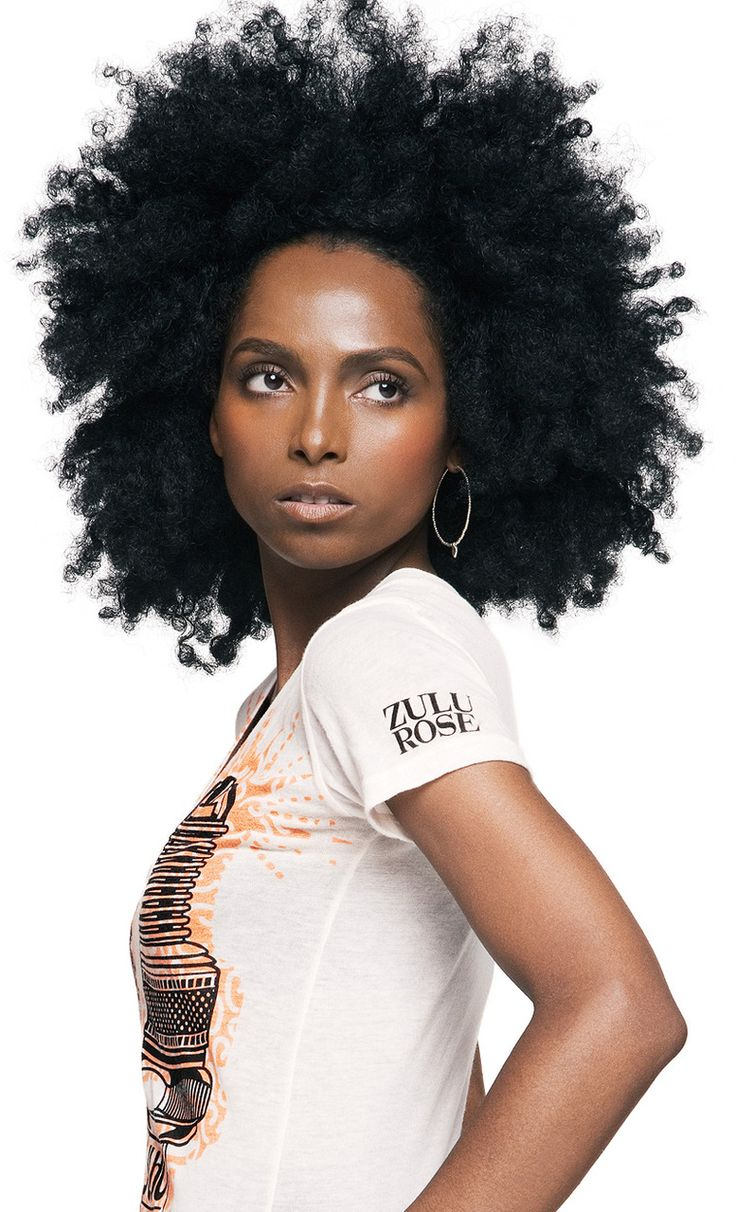 Beautiful Natural Kinky Hair