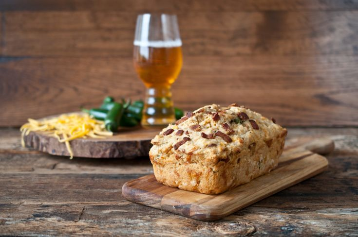 Bacon-Cheddar Beer Bread | Wanna Try Breads and rolls | Pinterest