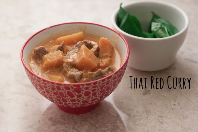 Thai Red Curry with Beef and Pumpkin | Take a Tour of Thailand | Pint ...