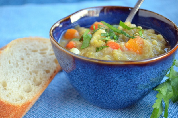 Vegetarian Split Pea Soup | DINNER TIME | Pinterest