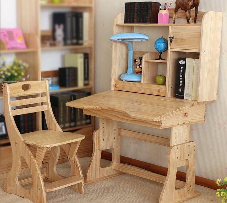 Детский стол из дерева своими руками 43