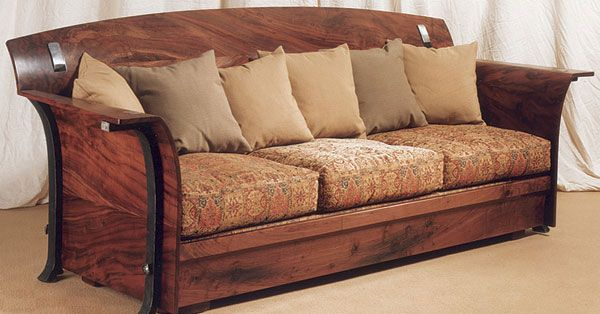 this arts and crafts sofa gives me an idea what if the. Black Bedroom Furniture Sets. Home Design Ideas