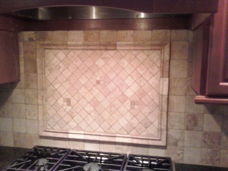 tumbled marble kitchen backsplash for the home pinterest