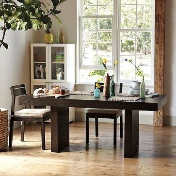 west elm dining table dining room pinterest