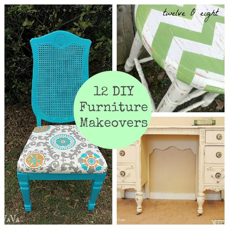12 Do It Yourself Furniture Makeovers Makeover Magic Pinterest