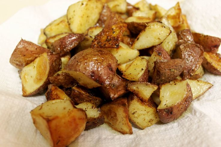 Extra Crispy Potatoes Photo
