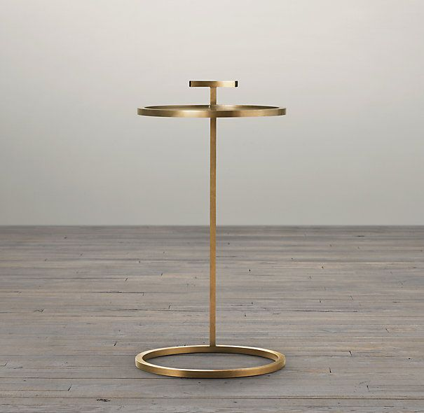 rh 14 martini side table furnish pinterest