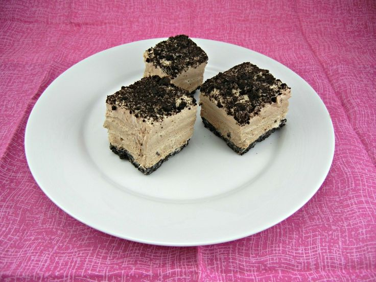 Frozen Toblerone Mousse Squares-looks amazing, once again I run into ...