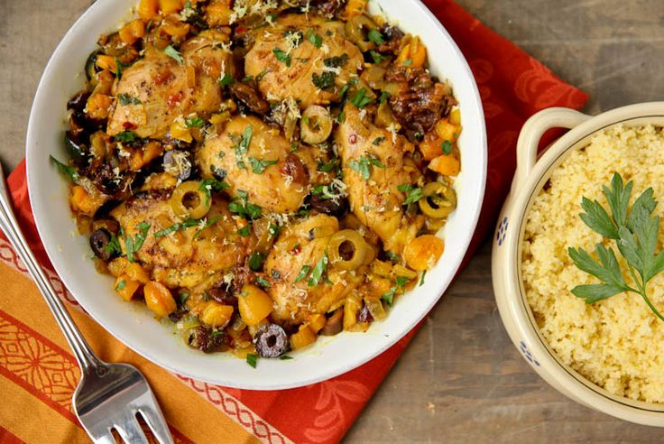 Easy Moroccan Chicken | For the LOVE of Food | Pinterest