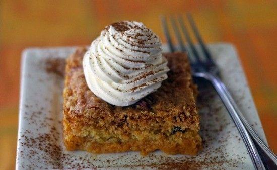 Pumpkin Crunch Cake Recipe | Food and Beverage | Pinterest