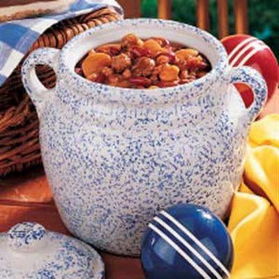 Three-Bean Baked Beans Recipe