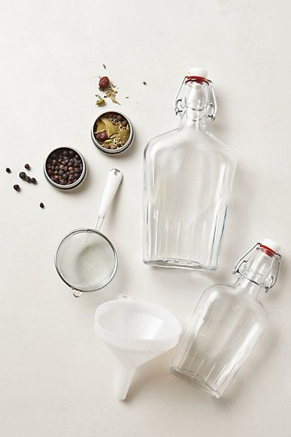 HomeMade Gin Kit #anthropologie | Style | Pinterest