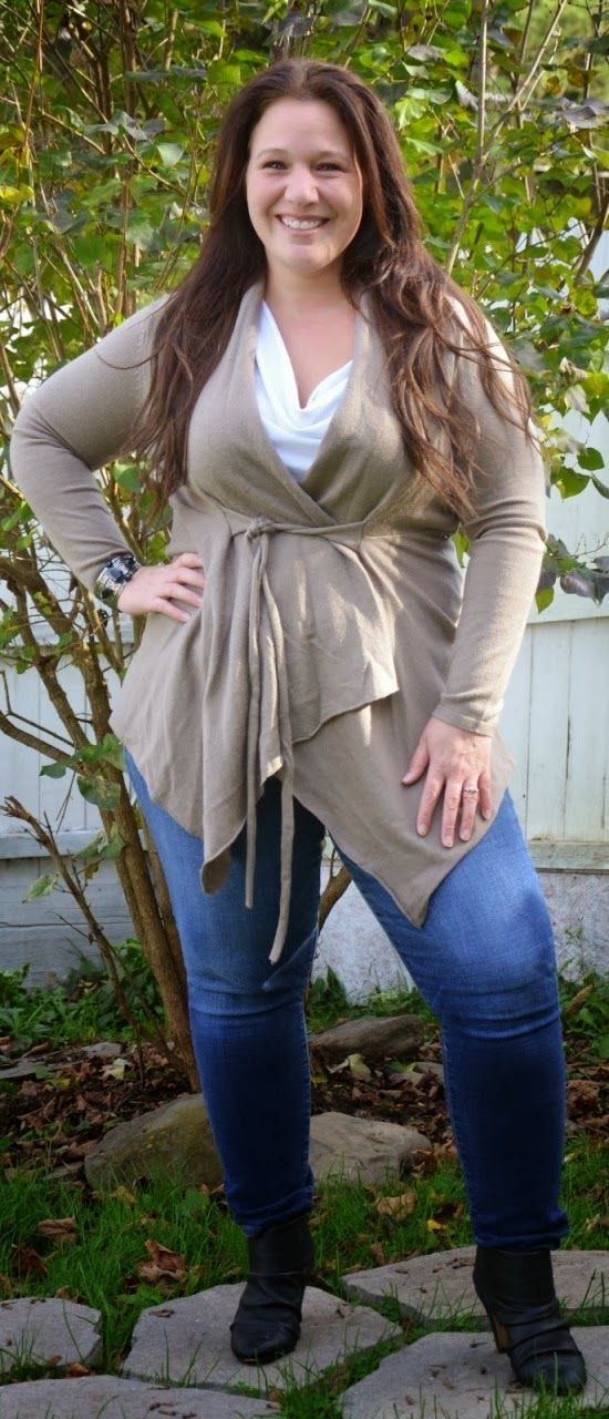 Stunning fall fashion for plus size women