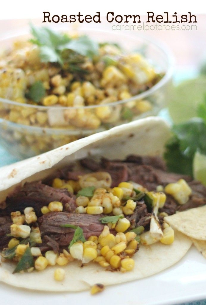 Roasted Corn Relish | Every Day should be DELICIOUS | Pinterest