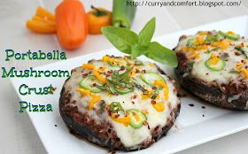 Curry and Comfort: Spicy Cheeseburger Stuffed Portabellas (Low Carb ...