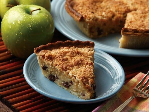 Applesauce raisin custard pie | Desserts | Pinterest