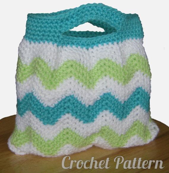 Crochet chevron bag pattern CRAFTS TO DO Pinterest