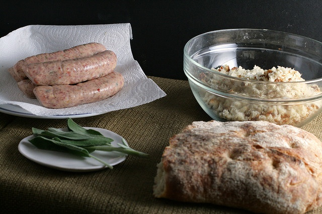 Chicken Sausage, White Bean and Sage Casserole *Not our thing. Tossed ...