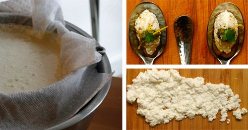 Fresh Ricotta Cheese in Five Minutes or Less | Serious Eats. Note ...