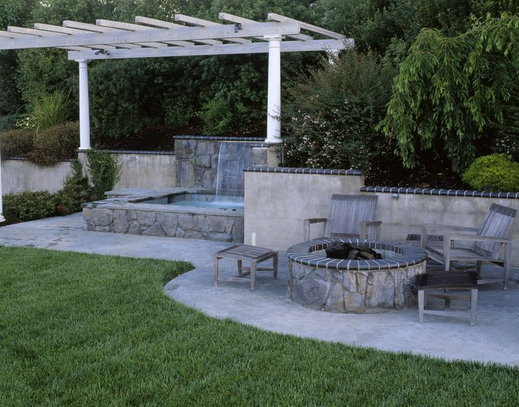 Outdoor Hot Tub Designs  Adventurous Hot Tub Patio Designs ? Picture