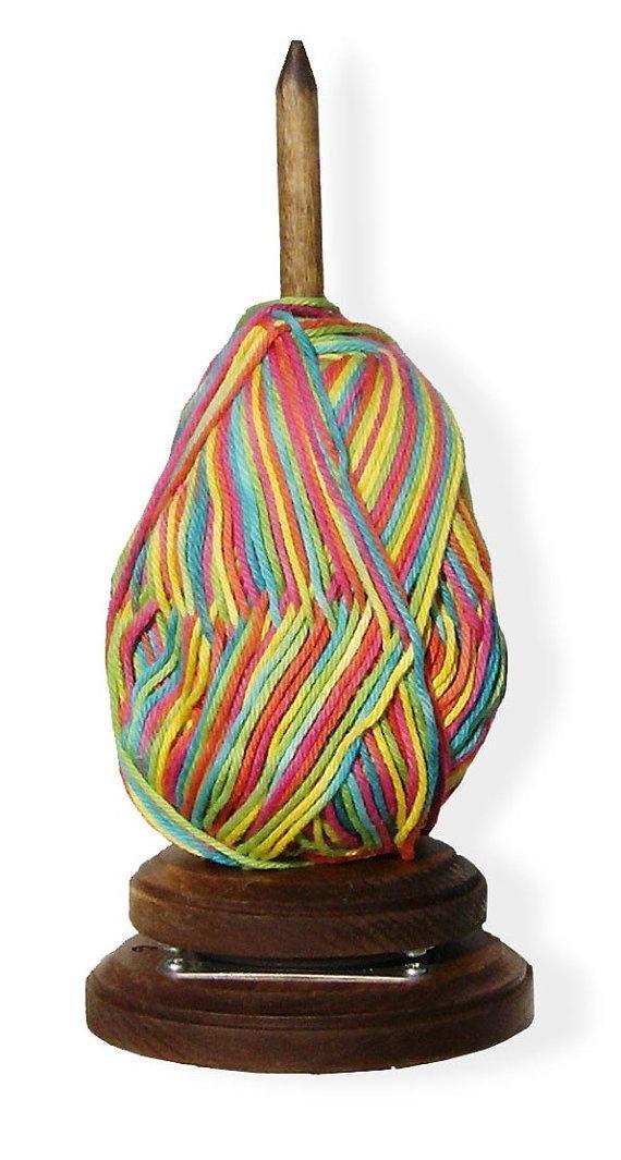 Wooden Knitting Wool Holder : Wooden yarn holder crochet pinterest