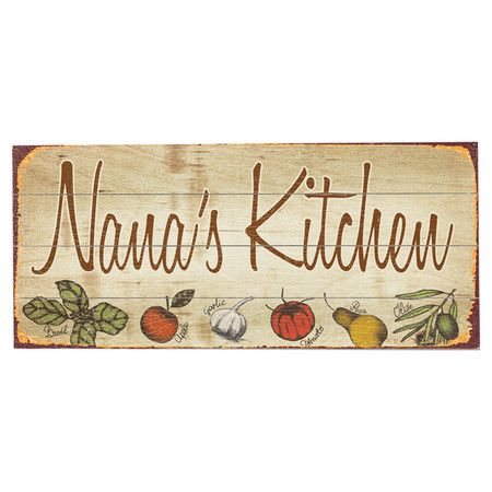Nana 39 s kitchen wall decor at joss main home pinterest Home decor joss and main