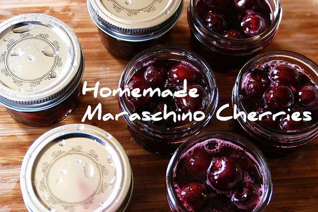 homemade_maraschino_cherries | Canning,Dehydrating,Preserving | Pinte ...