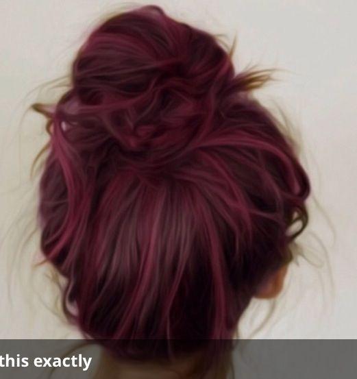 Wine Hair Red Wine Hair Color Chart  Dark Brown Hairs