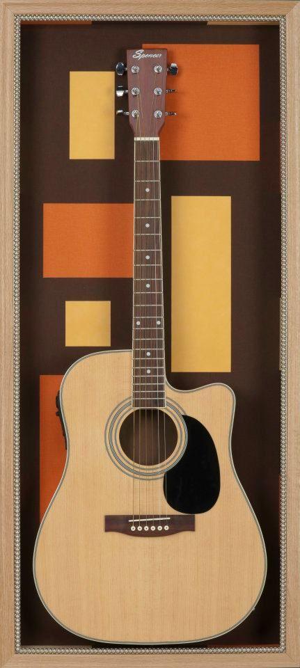 Guitar Shadow Box.