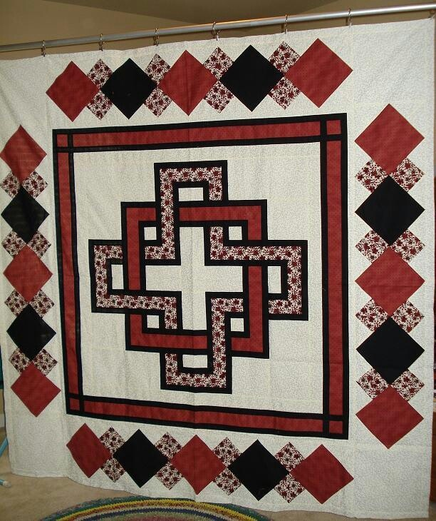 Gordian Knot II - before quilting   Crafts, My Quilts