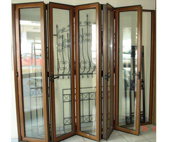 Folding doors accordion folding doors glass for Accordion doors