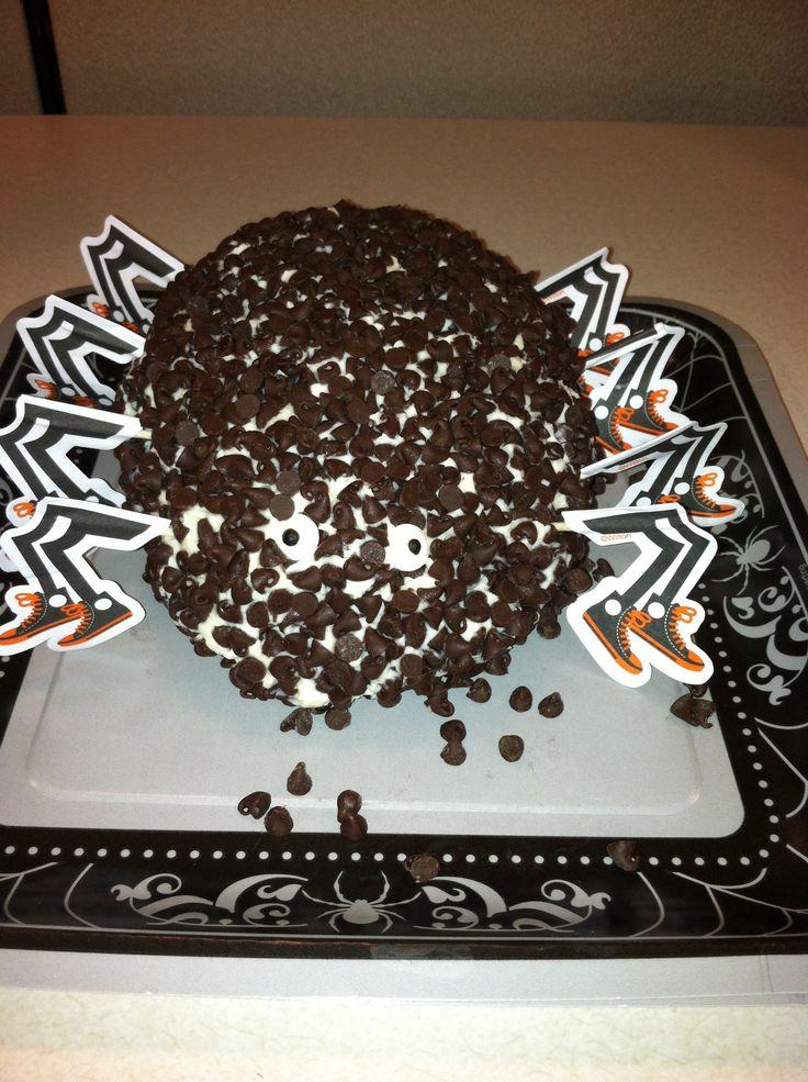 Chocolate Chip Cheese Ball | Halloween | Pinterest