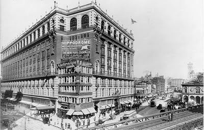 Macy's: Feb-March 1907 -- a little over one hundred years ago.
